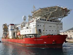 SUNRISE 2000 isimli boru döşeme gemisi, Ege Çelik Gemi Söküm Şirketine satıldı