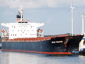 Zihni Denizcilik, M/V UNITED TREASURE isimli dökme yük gemisini filosuna kattı