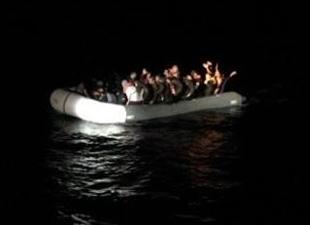 Balığa çıktılar kaçakları kurtardılar