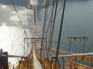 3. köprünün tabliye montajı yarılandı