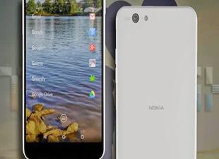 İşte Nokia'nın Android'li telefonu