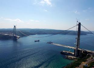 Yavuz Sultan Selim Köprüsü'nde son 648 metre