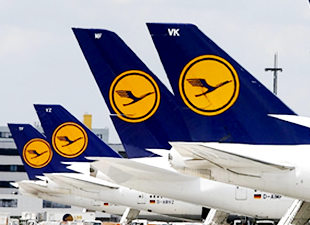 Lufthansa, bin uçuşunu iptal etti