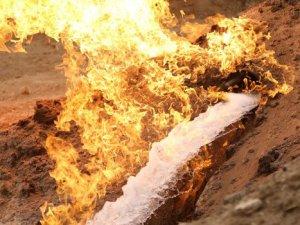 Irak'ta su kuyusundan doğalgaz çıktı