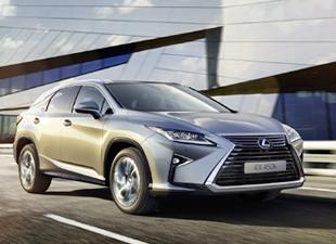 Lexus rx geliyor