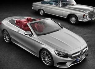 Mercedes S Serisinin üstünü açtı