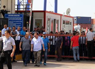 Haydarpaşa Limanı'nda kapı krizi