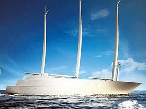 Rus milyarderin tasarladığı yelkenli, deneme seferine hazırlanıyor
