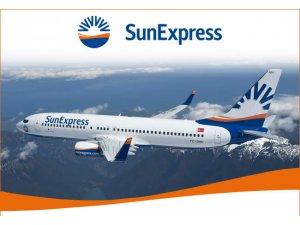 Sunexpress'in yeni uçağı yola çıktı