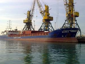 Çanakkale'de feribot ile kuru yük gemisi çatıştı