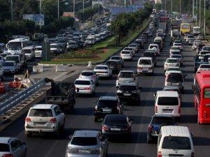 7 ayda 713 bin yeni araç trafiğe çıktı