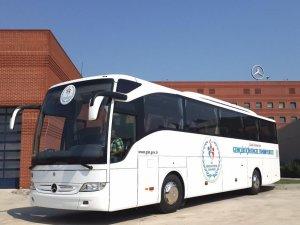 Mercedes Benz'den 30 adet engelli otobüsü