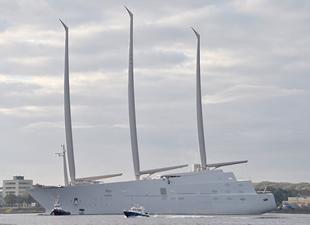Dünyanın en büyük yatı: Superyacht A