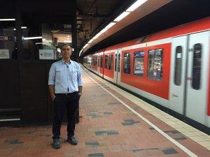 Hamburg'da trenlere yön veren Türk