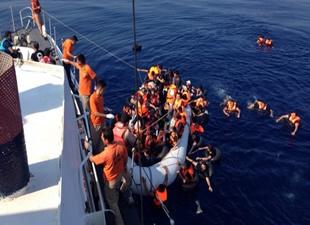 Türk Sahil Güvenlik ekipleri 55 bin kişi kurtardı