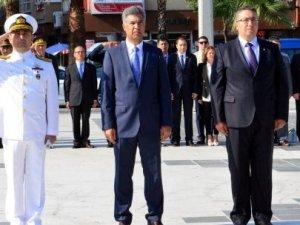 Preveze Deniz Zaferi için Çanakkale'de tören