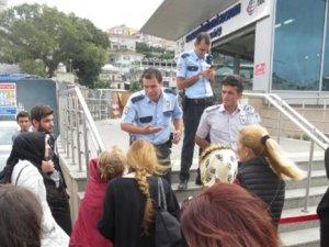 Marmaray seferleri aksadı