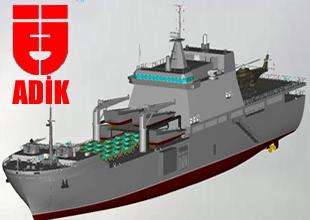 ADİK Tersanesi Amfibi gemi TCG Bayraktar'ı 3 Ekim'de denize indiriyor