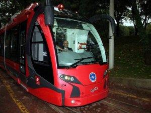 Bursa T2 tramvay hattında vagonların testleri başladı