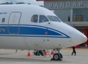 Endonezya'da uçak kayboldu