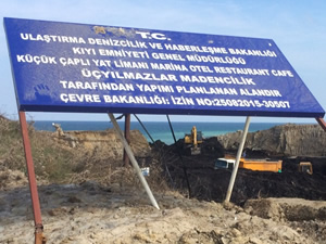 Tarihi Akpınar Tahlisiye İstasyonu'nu yıkarak, kömür ocağı yaptılar!
