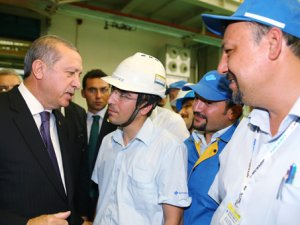 Cumhurbaşkanı Erdoğan, Sumitomo Rubber Ako Lastik Fabrikası'nı açtı