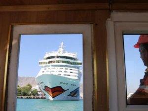 Antalya'da kruvaziyer turizmi