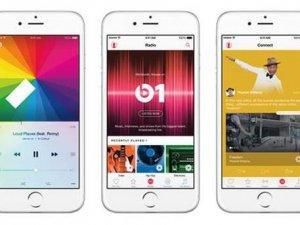 Apple müzik 15 milyon kullanıcıya ulaştı