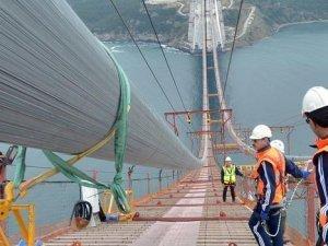İzmit Körfez Köprüsü'nün tamamlanmasına 5 ay kaldı