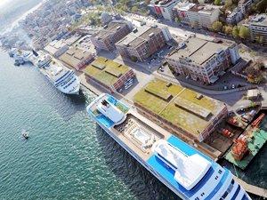 Salıpazarı Kruvaziyer Limanı'na gemi körük sistemi yapılacak