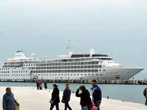 Karadeniz'e gelen kruvaziyer gemi sayısında büyük düşüş
