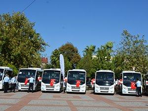 Karsan Dalyan'a teslim ettiği 22 adet JEST minibüsü ile Muğla ulaşımında dönüşümü başlattı