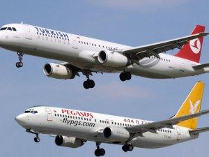 THY ve Pegasus yolcularını uyardı