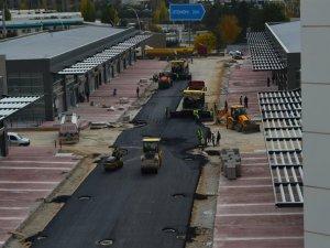 OTONOMİ'de yollar asfaltlanıyor