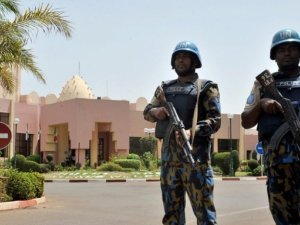 Mali'deki 7 personel İstanbul'a geldi