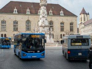 Karsan ATAK'lar Budapeşte yollarında
