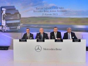 Mercedes Benz yeni bir rekora imza attı
