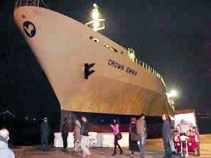 İstanbul Boğazı'nda korkulu anlar yaşatan gemi açıkta bekletiliyor