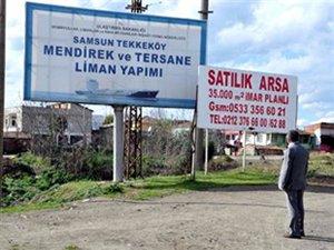 Samsun Tekkeköy Tersanesi'nde 3 yatırımcının sözleşmesi iptal edildi