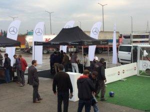 Mercedes'ten Pozantı'ya yeni şoför dinlenme tesisi