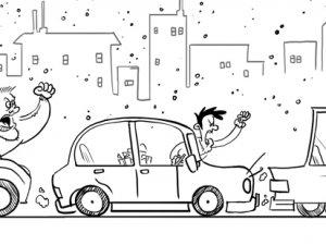 Trafikte kelebek etkisi!