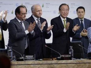 İklim değişikliği için anlaşma metninde uzlaşıldı