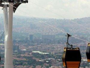 Ankara'ya iki yeni teleferik hattı geliyor