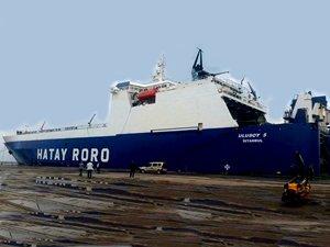 Hatay Ro-Ro Mısır'ı aştı, Suudi Arabistan'a takıldı