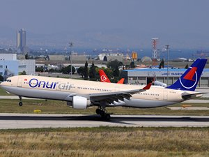 Onur Air filosuna bir A330 daha ekliyor