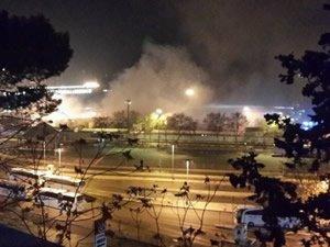 Haydarpaşa Limanı'nda korkutan patlamalar
