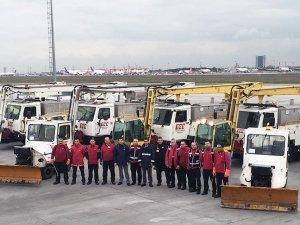 Atatürk Havalimanı kar yağışına hazır!