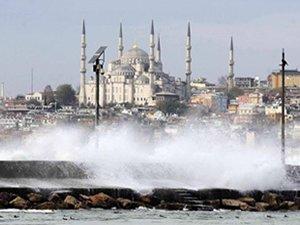 Lodos Marmara'yı altüst etti, İDO, BUDO ve GESTAŞ seferleri iptal oldu