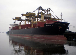 Sahil Güvenlik botları ve helikopterler Nemtaş-4 adlı gemiden düşen Türk mürettebatı arıyor