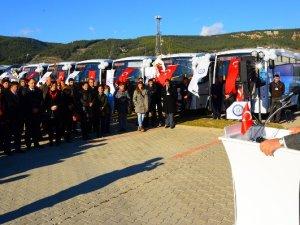 Otokar'dan Muğla'ya 33 otobüs